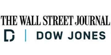 ダウ・ジョーンズとウオール・ストリート・ジャーナルのロゴ