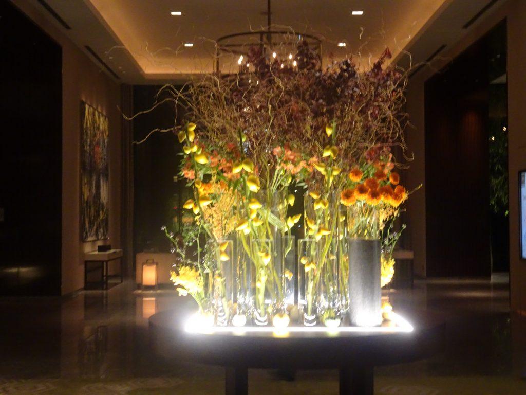 パレスホテルのフロント