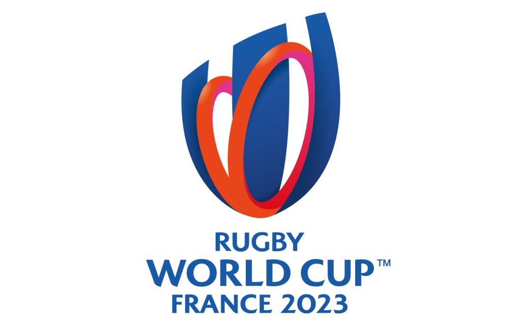 2023年のフランスラグビーワールドカップのロゴ