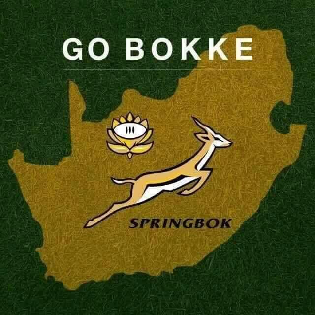 Go Bokke!と書かれたポスター