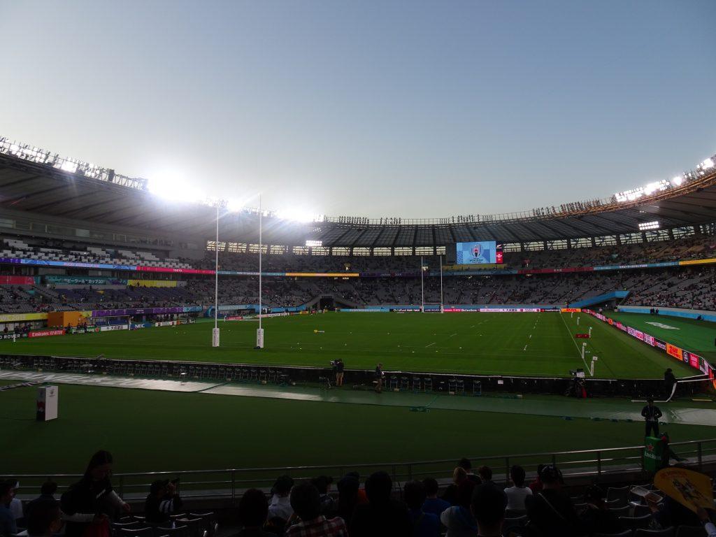 スタジアムの内部の様子