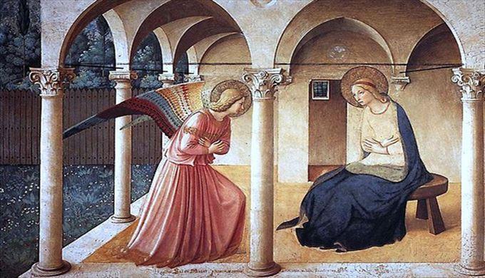 聖書の物語を伝える宗教絵画