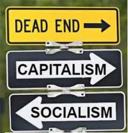資本主義の閉塞感を示す図