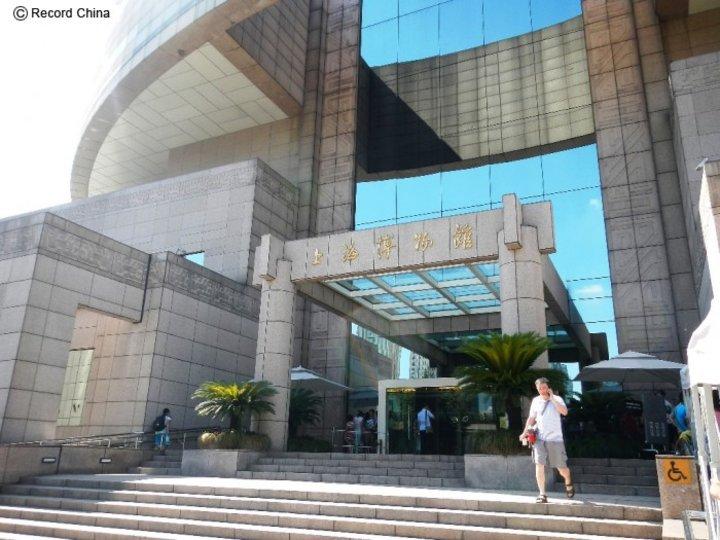 中国の新築された美術館