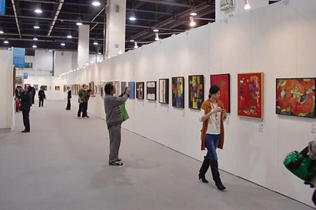 中国で開催されたアートフェア