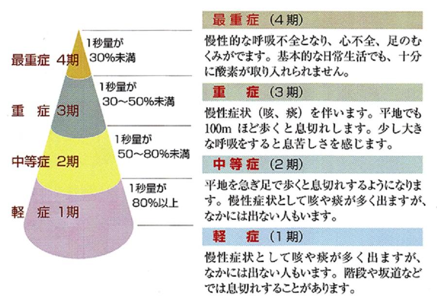 重症度分類を示した図