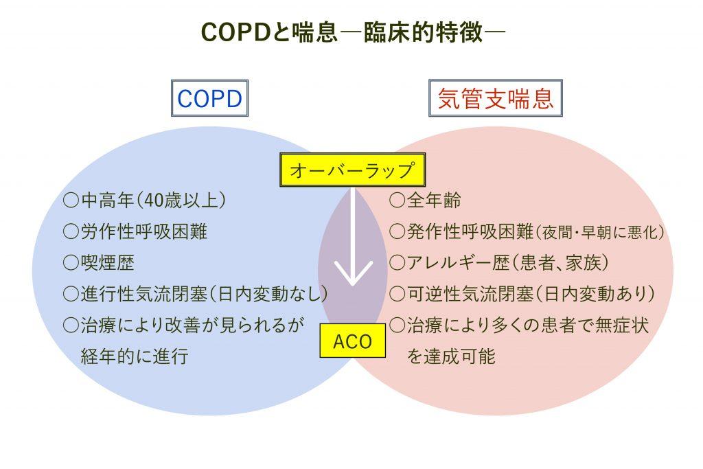 オーバーラップ(ACO)について説明した図