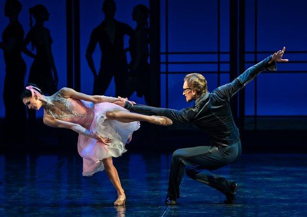 エイフマンバレエのダンサー