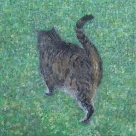 クリムトが描いたネコ