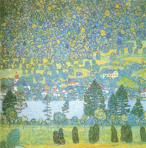 クリムトの風景画