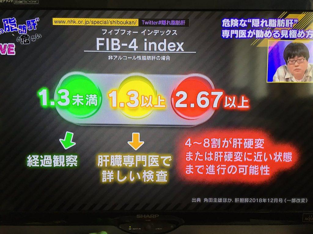 FIB-4インデックスについて説明した図