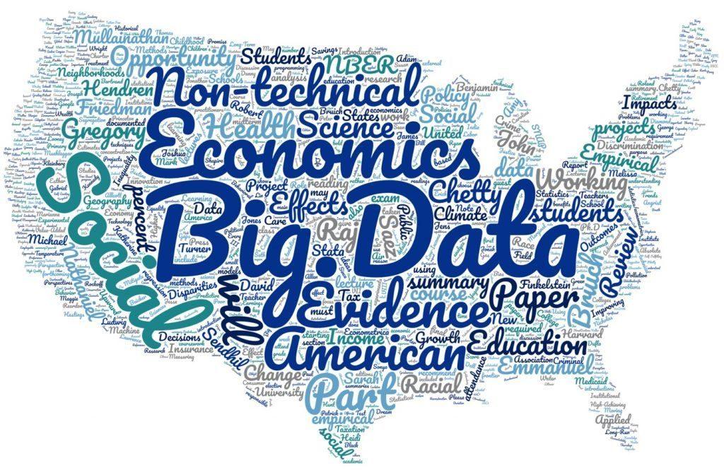 アメリカにおけるビッグデータの取扱いを説明する図