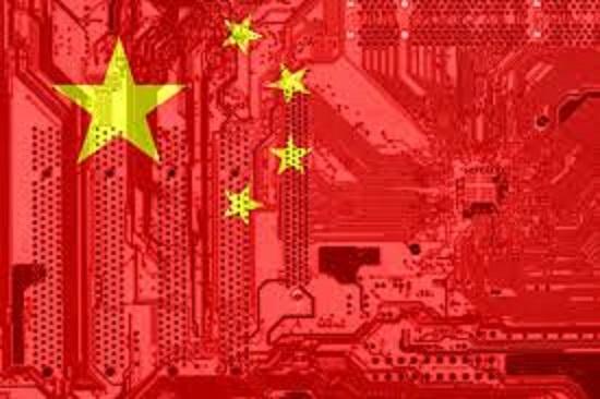 中国におけるビッグデータの取扱いを説明する図