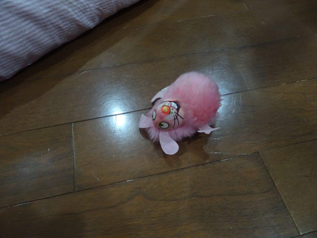ピンクのゲハゲハちゃん