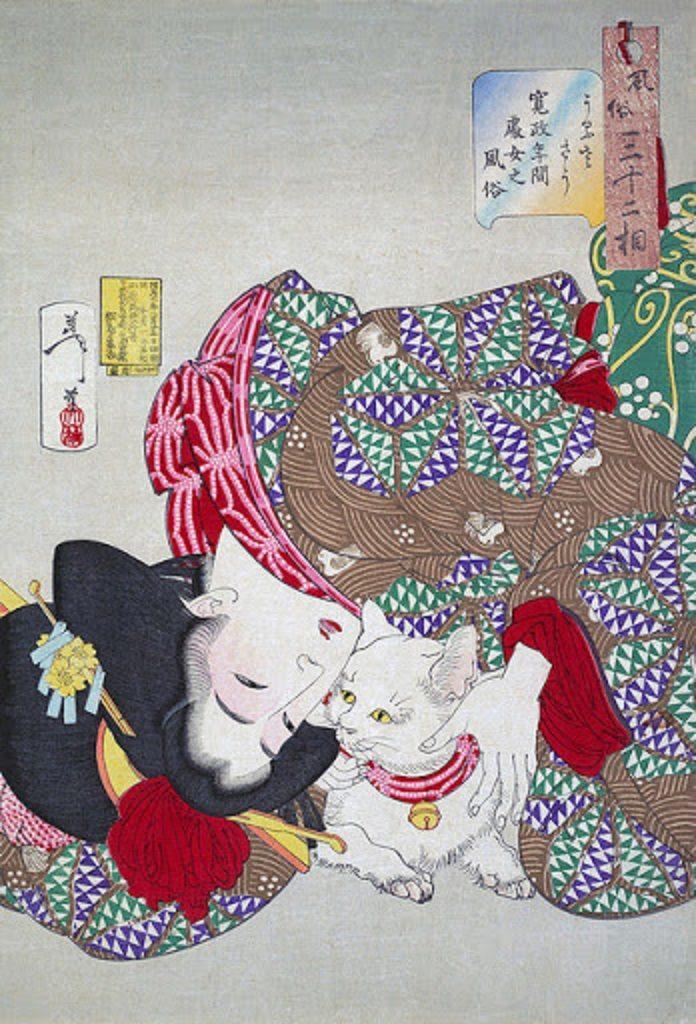 江戸時代のネコ