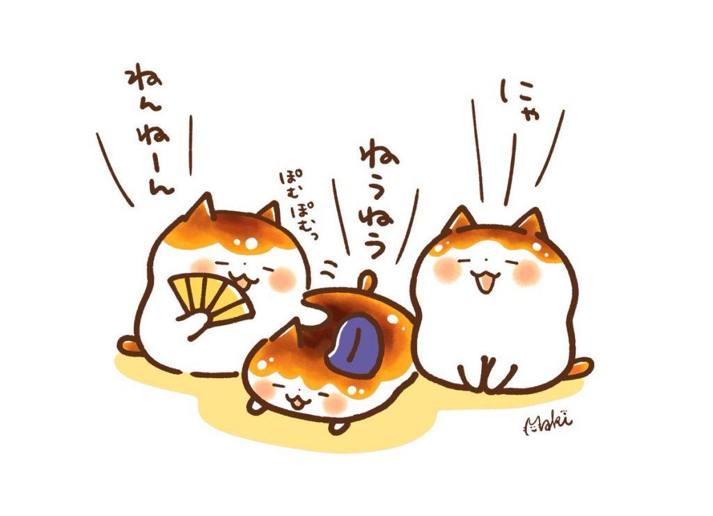 鎌倉時代のネコ