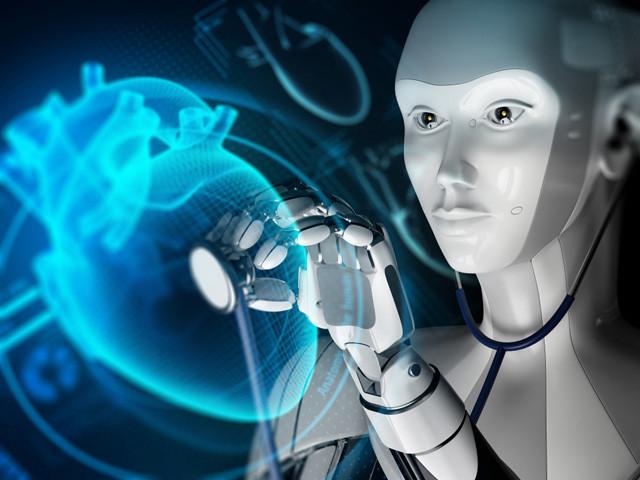 ヒトを診察するAIロボット医師