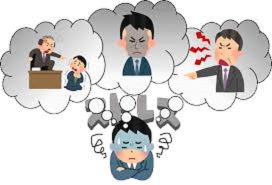 否定的体験への固執性の弊害を示す図