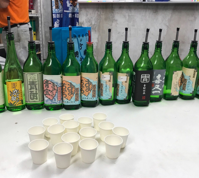 さまざまな杜氏さんが造った青酎のボトル・その2