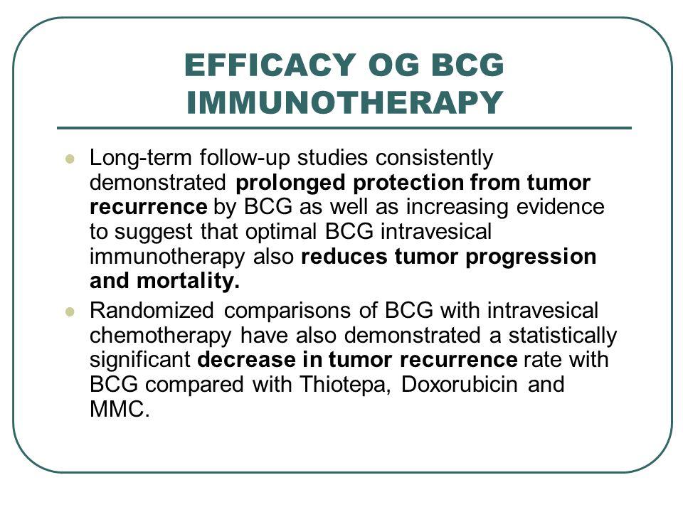 BCGががん免疫療法に有用なことを説明するスライド
