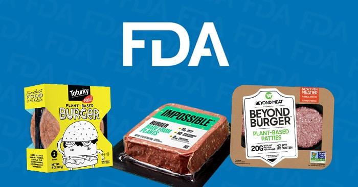 代替肉へのFDAの認証を示す書類
