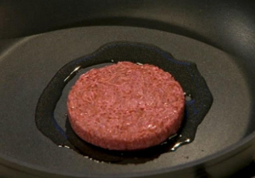 培養肉でできたステーキ