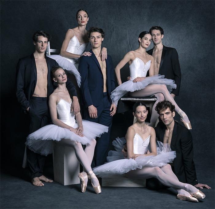 バレエ団のトップダンサーたち