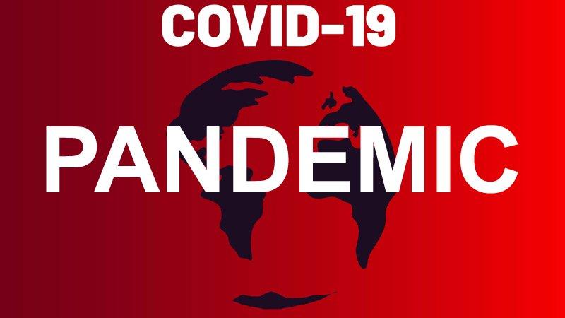 新型コロナウイルス・COVID-19の注意を喚起するポスター