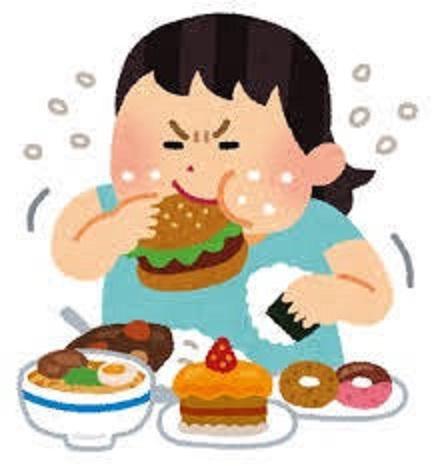 食事でストレス解消する人