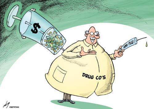 ワクチン開発には巨額の費用が必要なことを示すイラスト