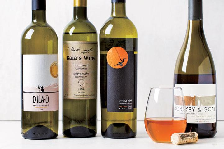 世界各国のオレンジワイン