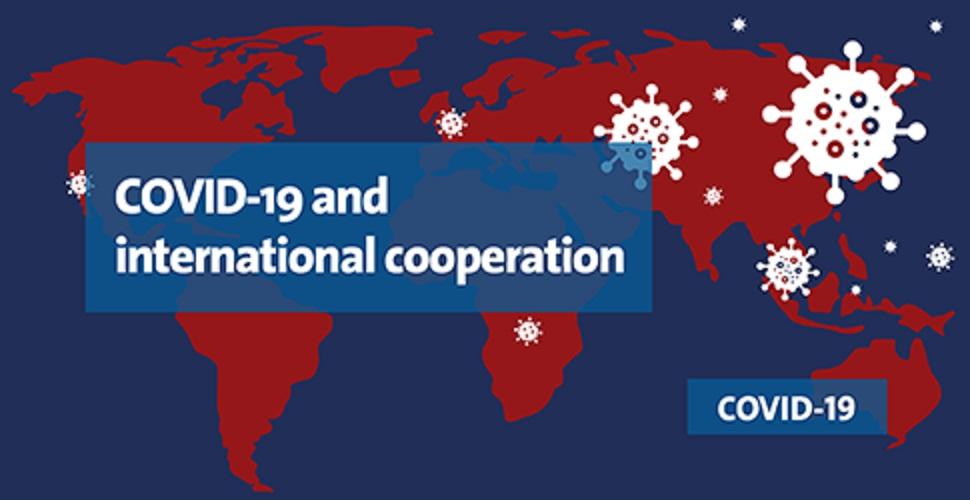 グローバル体制を主張するポスター