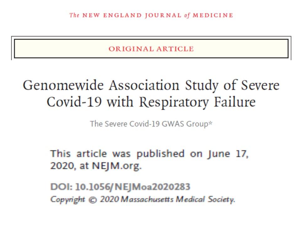 GWASでも明らかにされた新型コロナウイルスと血液型の関連