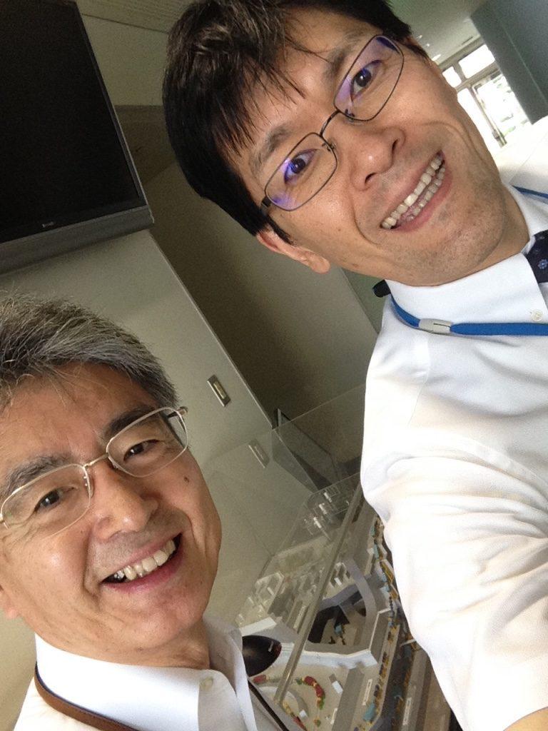 平野先生と村上先生