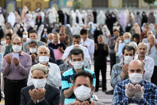 イランでの感染拡大の様子