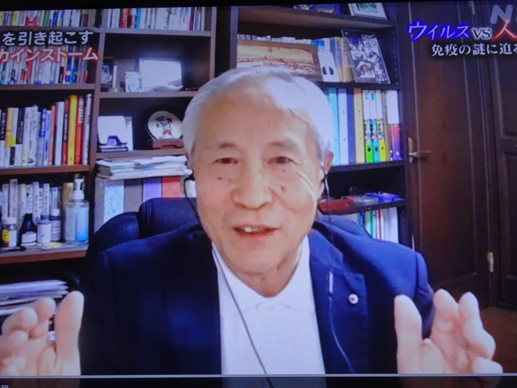 まとめの意見を述べられる宮坂先生