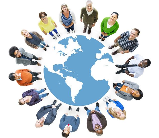 グローバルな情報共有を求める人々