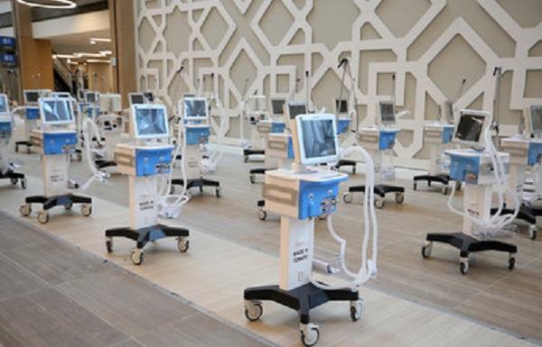 量産されている人工呼吸器