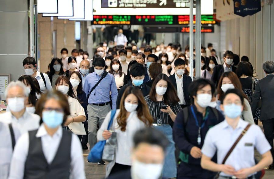 新型コロナ・マスクの必要性の変遷