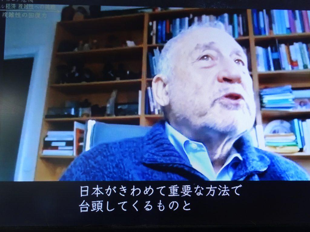 日本に期待を寄せるスティグリッツさん