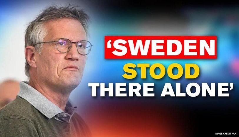 スウエーデンの感染対策のポスター