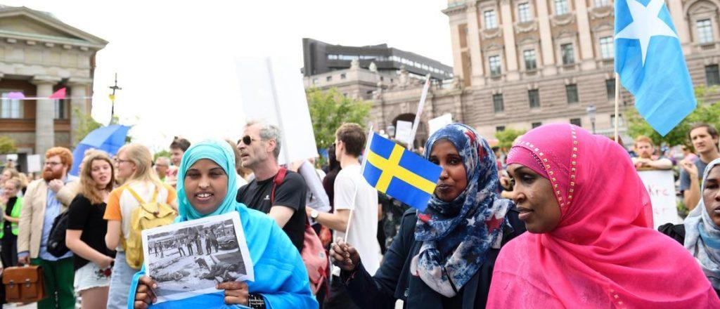 スウエーデンに住む移民の人たち