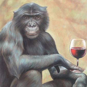 ワインを飲む人類の祖先
