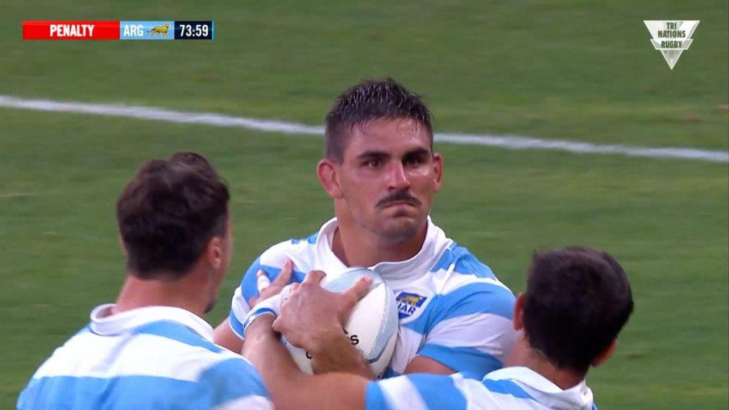 ドヤ顔のアルゼンチンのキャプテン