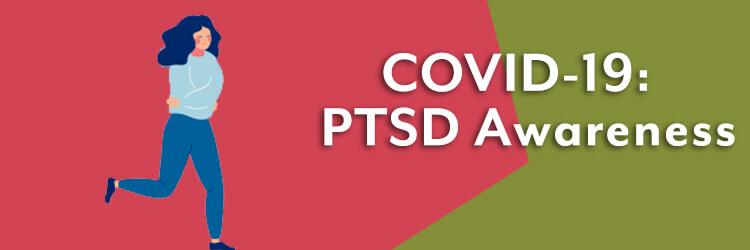 PTSDを懸念するポスター