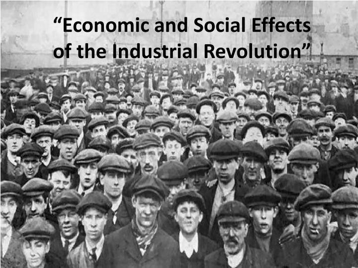 産業革命の頃の人々
