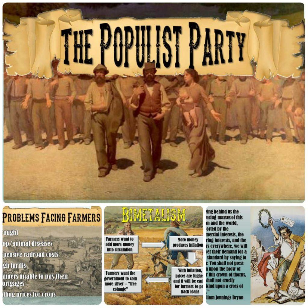 ポピュリスト党のポスター