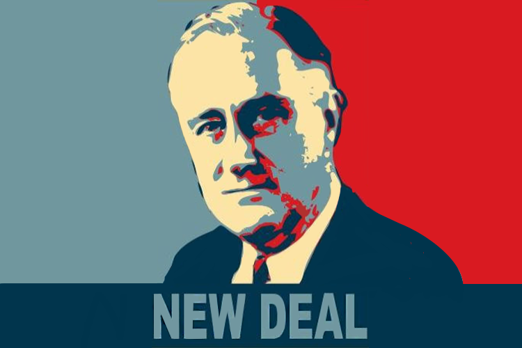 ニューディール連合のポスター