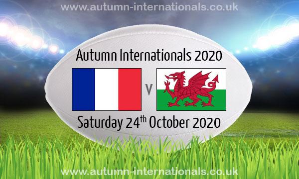 フランスとウエールズ戦のポスター