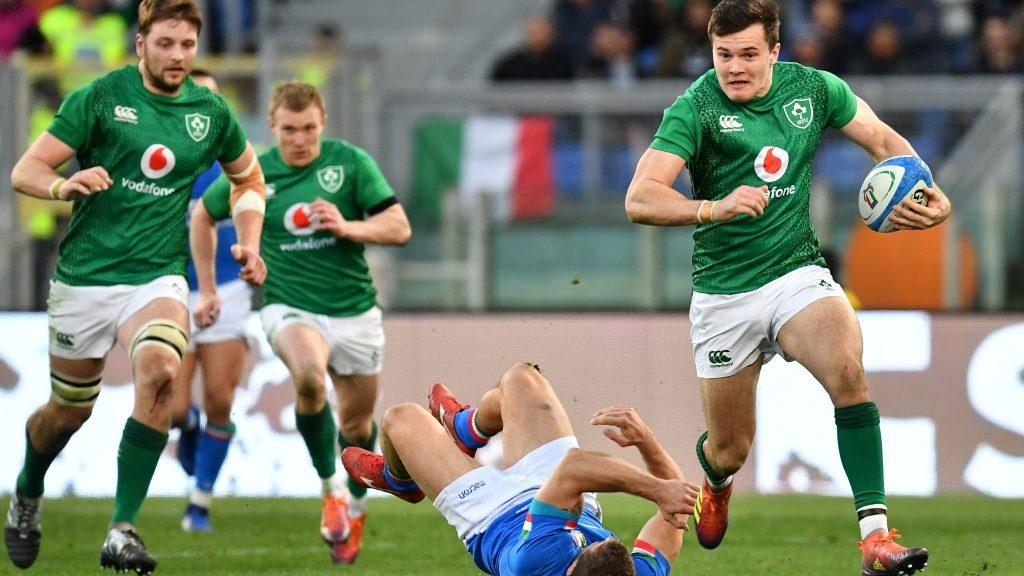 活躍するアイルランドの選手